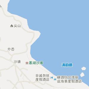 嵊泗菜园电子地图_中国电子地图网