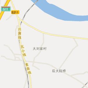 普兰店大刘家电子地图