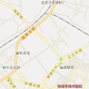 鞍山海城电子地图