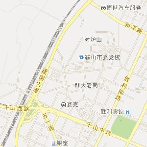 钢城街道卫星地图 柳州市柳北区钢城街道卫星地图