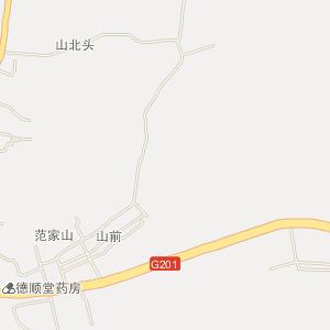东港北井子电子地图