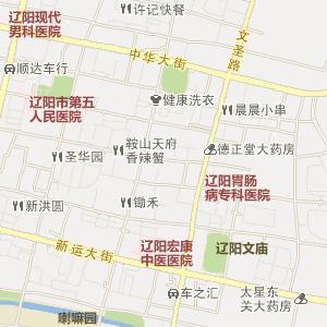 灯塔市城区地图