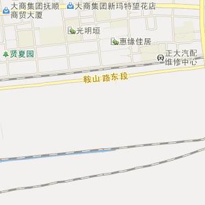 辽宁电子地图 抚顺电子地图