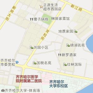 齐齐哈尔建华电子地图