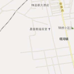 大兴安岭塔河电子地图