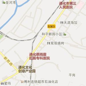 吉林通化电子地图_中国电子地图网