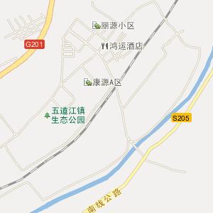 二道江五道江电子地图图片