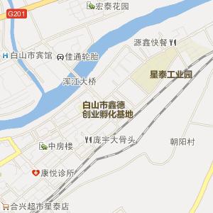 吉林省白山市电子地图