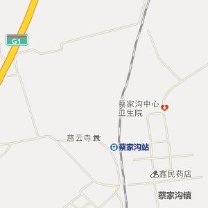 扶余蔡家沟电子地图_中国电子地图网图片