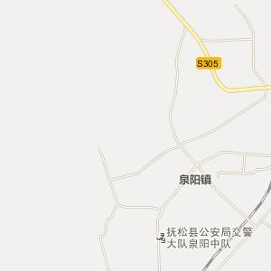 抚松泉阳电子地图_中国电子地图网图片
