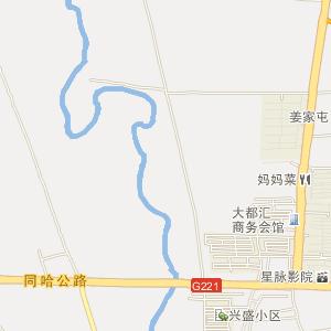 黑龙江电子地图 哈尔滨电子地图