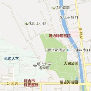 延边延吉电子地图_中国电子地图网
