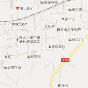 吉林省延边州电子地图