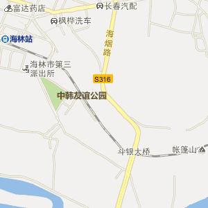 牡丹江海林电子地图_中国电子地图网