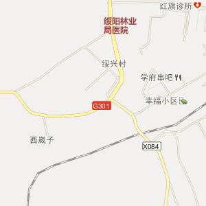 牡丹江市电子地图 东宁县电子地图