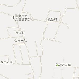 黑龙江鹤岗电子地图