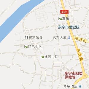 牡丹江东宁电子地图_中国电子地图网