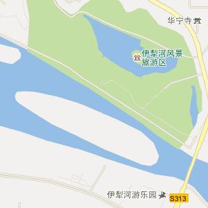 伊犁州电子地图 伊宁市电子地图