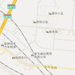 奎屯乌鲁木齐西路电子地图