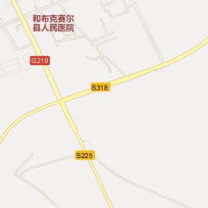新疆乌鲁木齐到塔城多远