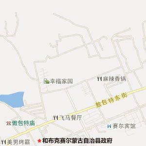 乌鲁木齐到塔城地图