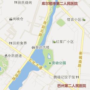96年乌鲁木齐地图