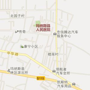 昌吉玛纳斯电子地图_中国电子地图网