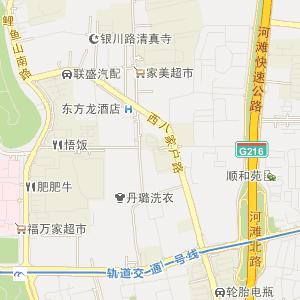 乌鲁木齐新市电子地图