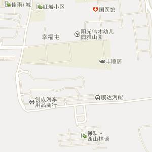 乌鲁木齐市沙依巴克区西山街道地图