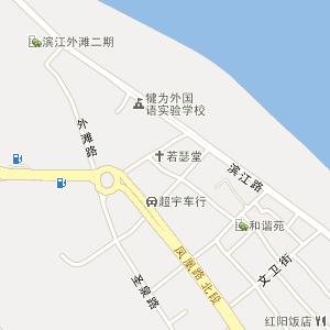 乐山市犍为县玉津镇地图