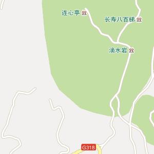 成都市龙泉驿区山泉镇地图