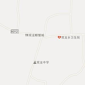 常德市澧县双龙乡地图