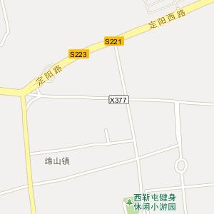 晋中市介休市绵山镇地图