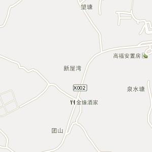 株洲市石峰区云田乡地图