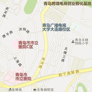 镇江市京口区大港街道卫星地图