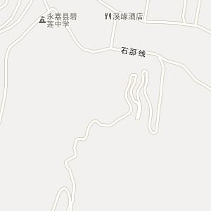 温州市永嘉县碧莲镇地图