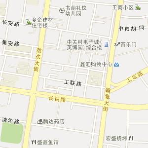吉林延边敦化电子地图