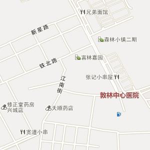 延边州敦化市丹江街道地图
