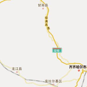 碾子山区地图_碾子山区地图全图_...