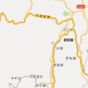 云南省云南省行政地图