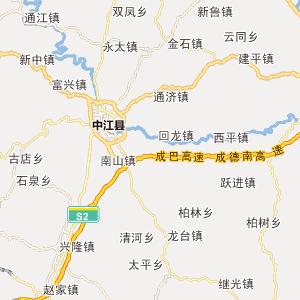 四川省四川省行政地图