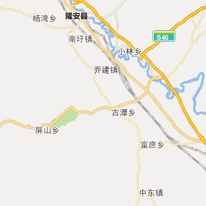 广西广西行政地图_中国电子地图网