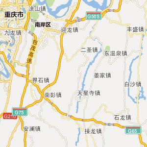 重庆重庆行政地图 中国电子 地图 网
