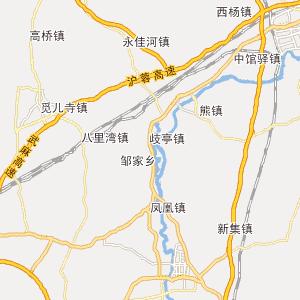 湖北郧县竹山地图