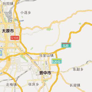 山西山西行政地图_中国电子地图网