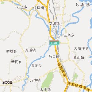 鹰潭市行政地图 赣州市行政地图