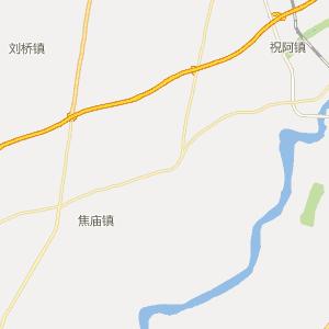 济南市旅游地图