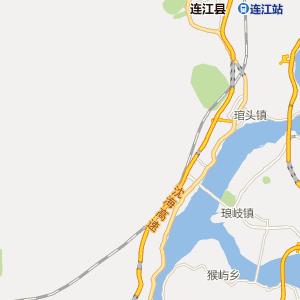 福建省福建省旅游地图
