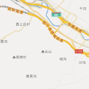 距西宁飞机场50公里,青藏铁路