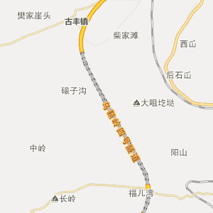 甘肃行政地图 武威行政地图